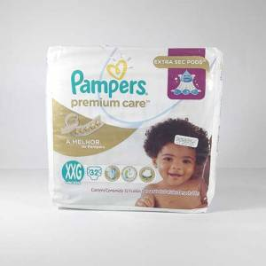 Pañal Pampers Premium Care XXG x 32