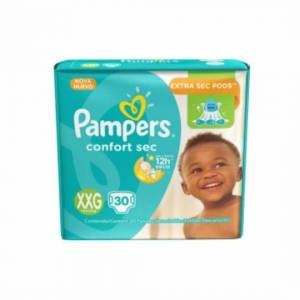 Pañal Pampers Confort Sec XXG x 30
