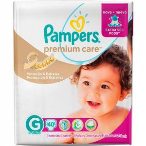 Pañal Pampers Premium Care G x 40