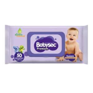Pañitos Babysec Premium x 50