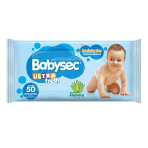 Pañitos Babysec Ultra Fresh Tripack x 50