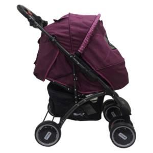 Coche Pantra Morado incluye porta- bebé Ebaby