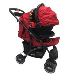 Coche Pantra Rojo incluye porta- bebé Ebaby