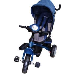 Triciclo con Asiento Giratorio Maks Azul