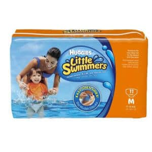 Pañal Huggies Little Swimmers Mediano x 11