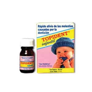 Topident Infantil Plus Solx10ml