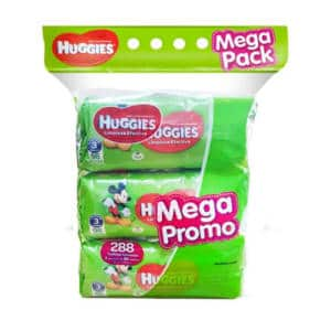 Pañitos Húmedos Huggies Active Fresh x 288 unidades