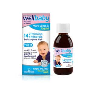 Wellbaby Jarabe Multivitaminas y Minerales x150ml