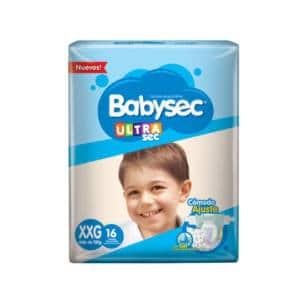 Pañal Babysec Ultra XXG x16
