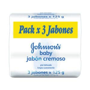Jabon Johnsons Original Babyx125grx3