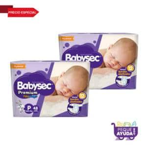 Pañal Babysec Premium P x 96 (p)