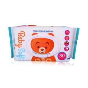 Pañitos Húmedos Baby Soft x 80 unidades