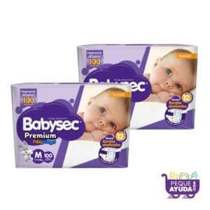 Pañal Babysec Premium M x 200 (p)