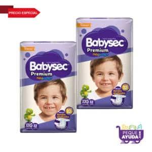 Pañal Babysec Premium XXG x 64 (p)