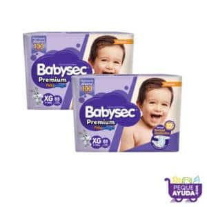 Pañal Babysec Premium XG x 176 (p)