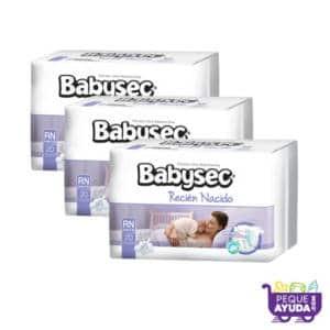 Pañal Babysec Premium Recién Nacido x 60