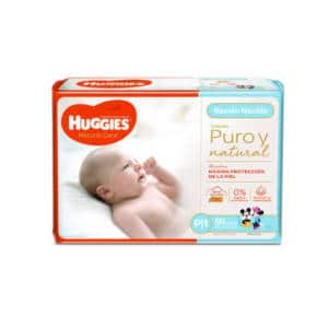 Pañal Huggies Natural Care (Rojo) Peqx50