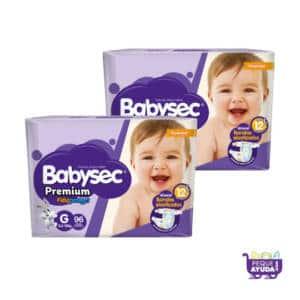 Pañal Babysec Premium G x 192
