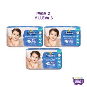 Pañal Pequeñin Premium Touch Etapa 4 x 28 PAGA 2 LLEVA 3 (p)