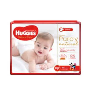 Pañal Huggies Natural Care Unisex Mx42
