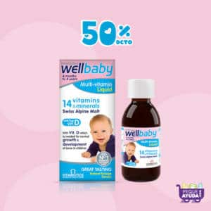 Wellbaby Jarabe Multivitaminas y Minerales x 150ml