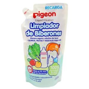 Solución Pigeon Limpia Biberónes Doy Pack x 650ml