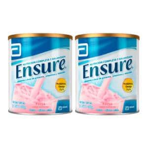 Ensure Fresa x 400g + 2da Lata 20% de Descuento