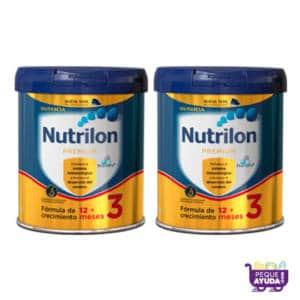 Nutrilon Premium 3 800g + 2da 50% descuento PACK