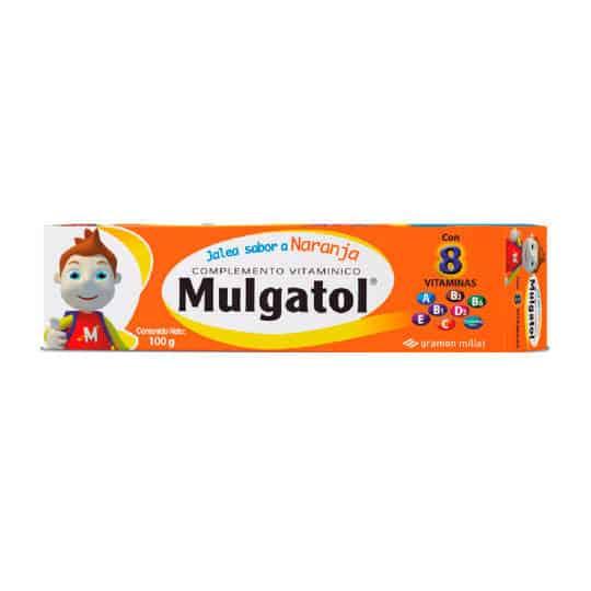 Mulgatol Jalea Naranja x 100GR