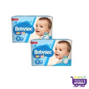 Pañal Babysec Ultra G x 192 (p)