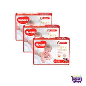 Pañal Huggies Natural Care Unisex M x 180 Promo