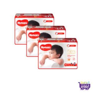Pañal Huggies Natural Care Unisex XG x 132 Promo