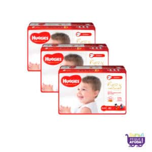 Pañal Huggies Natural Care Unisex XXG x 120 Promo