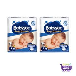 Pañal Babysec Super Premium P x 112