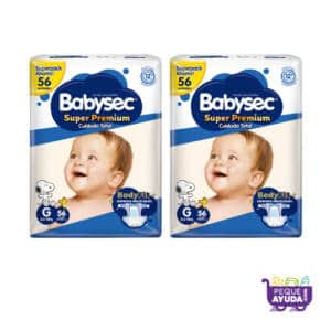 Pañal Babysec Super Premium G x 112