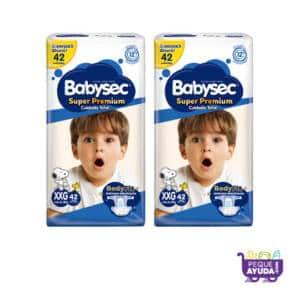 Pañal Babysec Super Premium XXG x 84