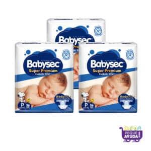 Pañal Babysec Super Premium P x 168