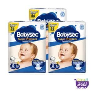 Pañal Babysec Super Premium G x 168