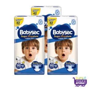 Pañal Babysec Super Premium XXG