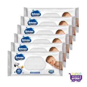 Pañitos Húmedos Babysec Super Premium x 240