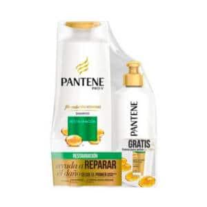 Shampoo Pantene Restauración x 400ml + Crema Para Peinar 160ml