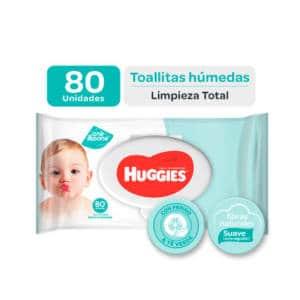 Pañitos Húmedos Huggies One Done x 80