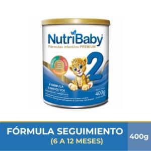 Nutribaby Fase 2 400g (4 unidades)