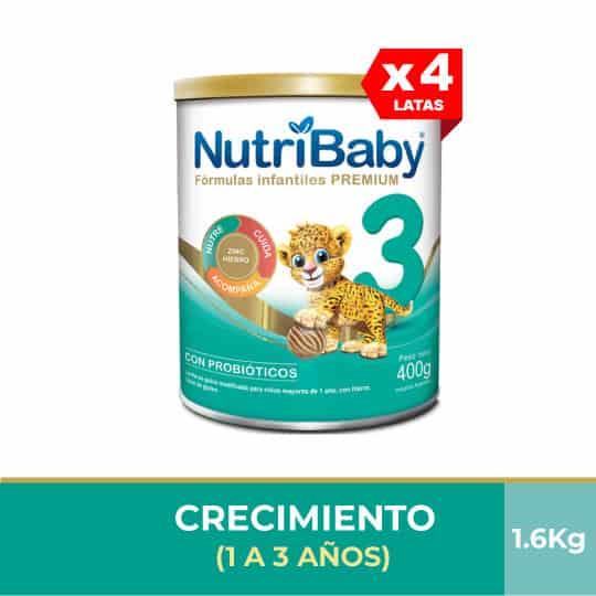 Nutribaby Fase 3 400g (Paga 3 y Lleva 4)