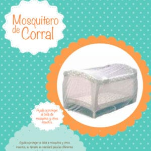 Mosquitero para corral Mr & Mrs