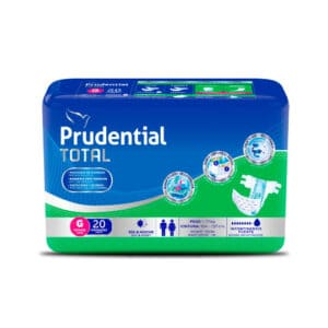 Pañal Prudential Total G x 20