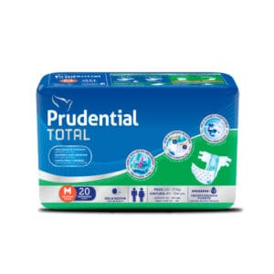 Pañal Prudential Total M x 20