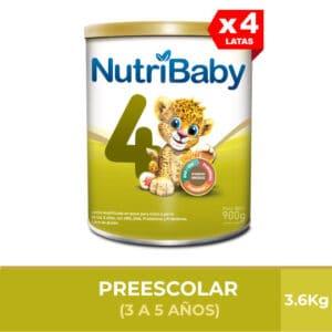 Nutribaby Fase 4 900g (Paga 3 y Lleva 4)