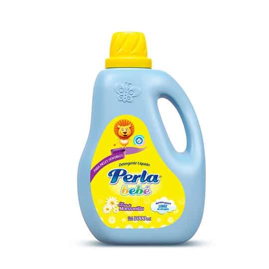 Detergente Líquido Perla Bebé Manzanilla x 3 Litros