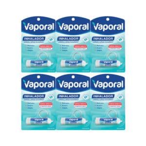 Vaporal Inhalador 10g x 6